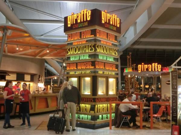 Giraffe - Heathrow T5