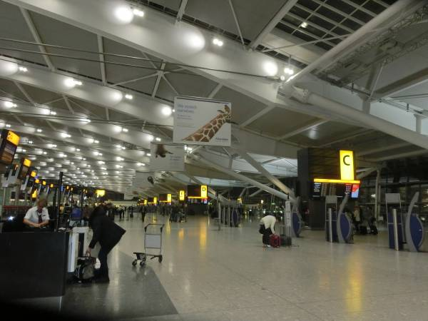 Heathrow Airport Check In