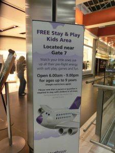 Heathrow Stay & Play Kids Area