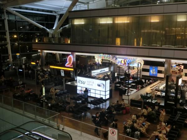 Heathrow T5 Restaurants