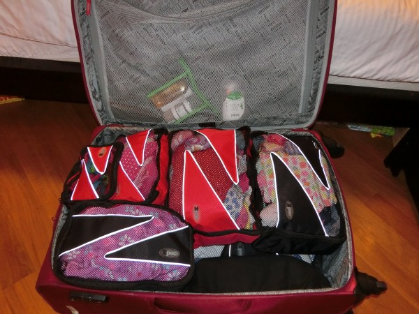 Zpacs in suitcase - shrink