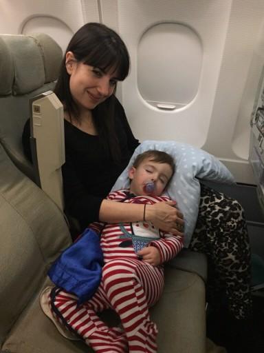 Sri Lankan Airlines - Freddy Asleep