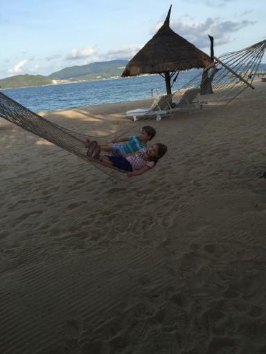 Nha Trang - on beach