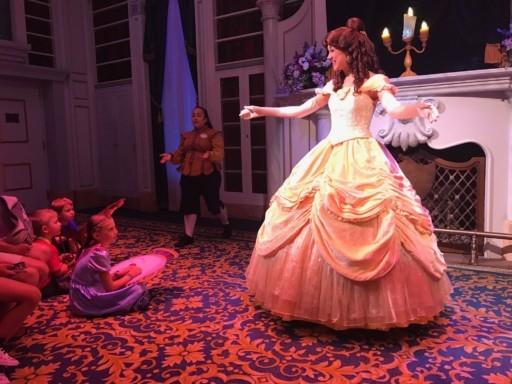 photo of Belle at Magic Kingdom