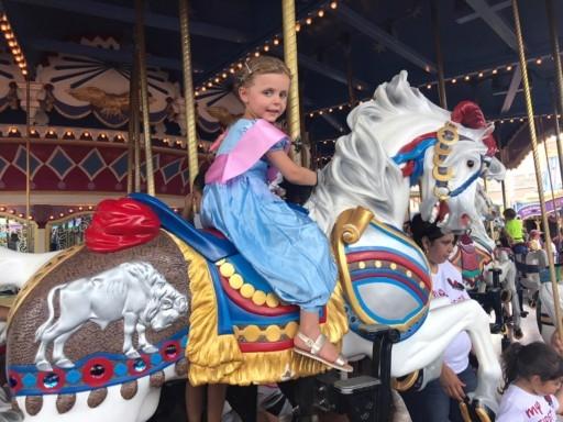 photo of Sky on Carousel at Magic Kingdom