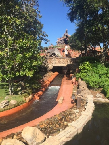 photo of Splash Mountain ride at Magic Kingdom