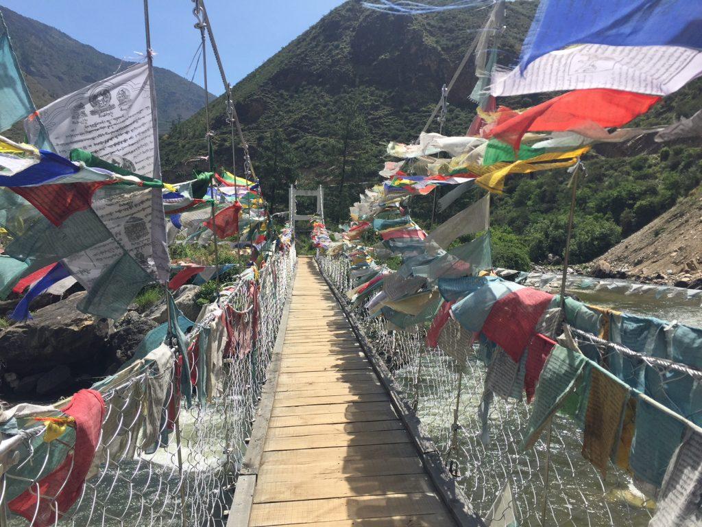bridge in Bhutan