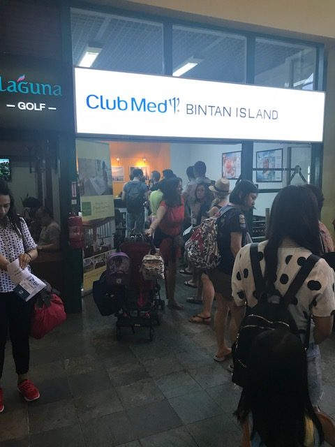 Arrivals Club Med Bintan