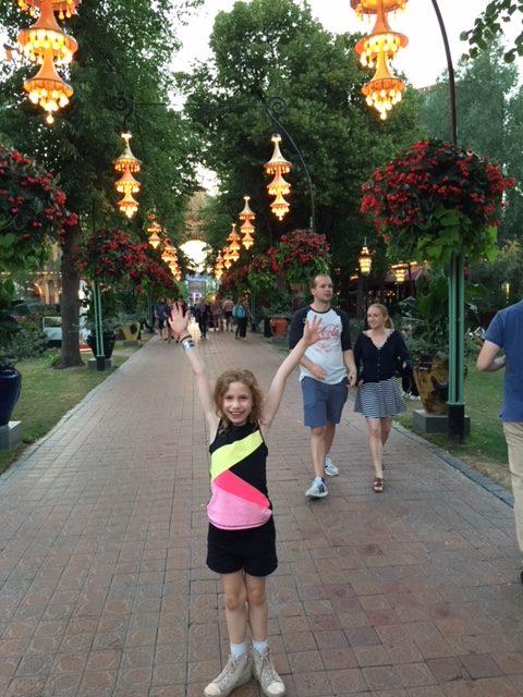 Abbie at Tivoli
