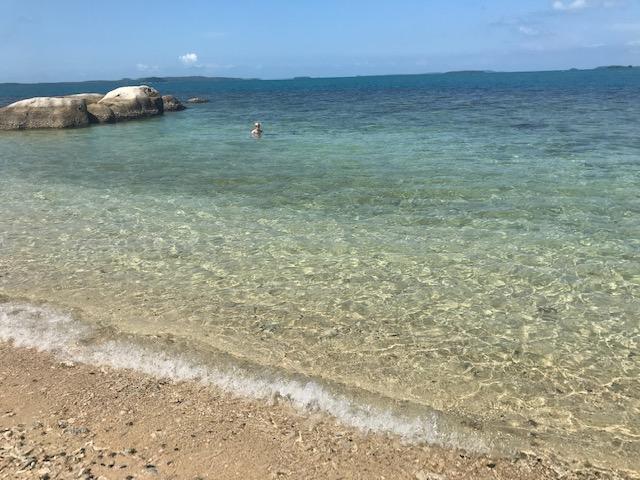 beach at Cempedak island