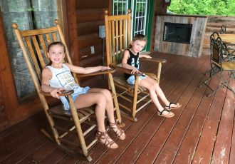 porch life Gatlinburg