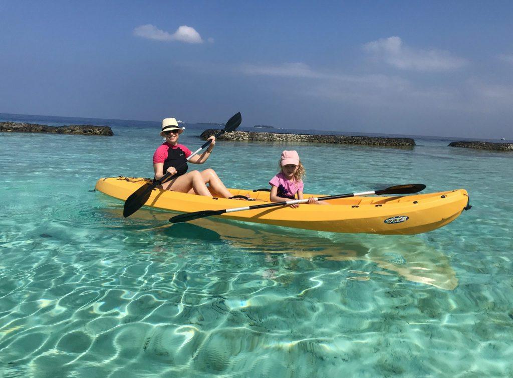 photo of kayak in kurumba, maldives