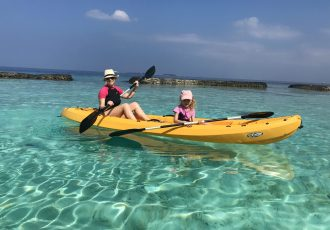 photo of kayak in kurumba, maldives