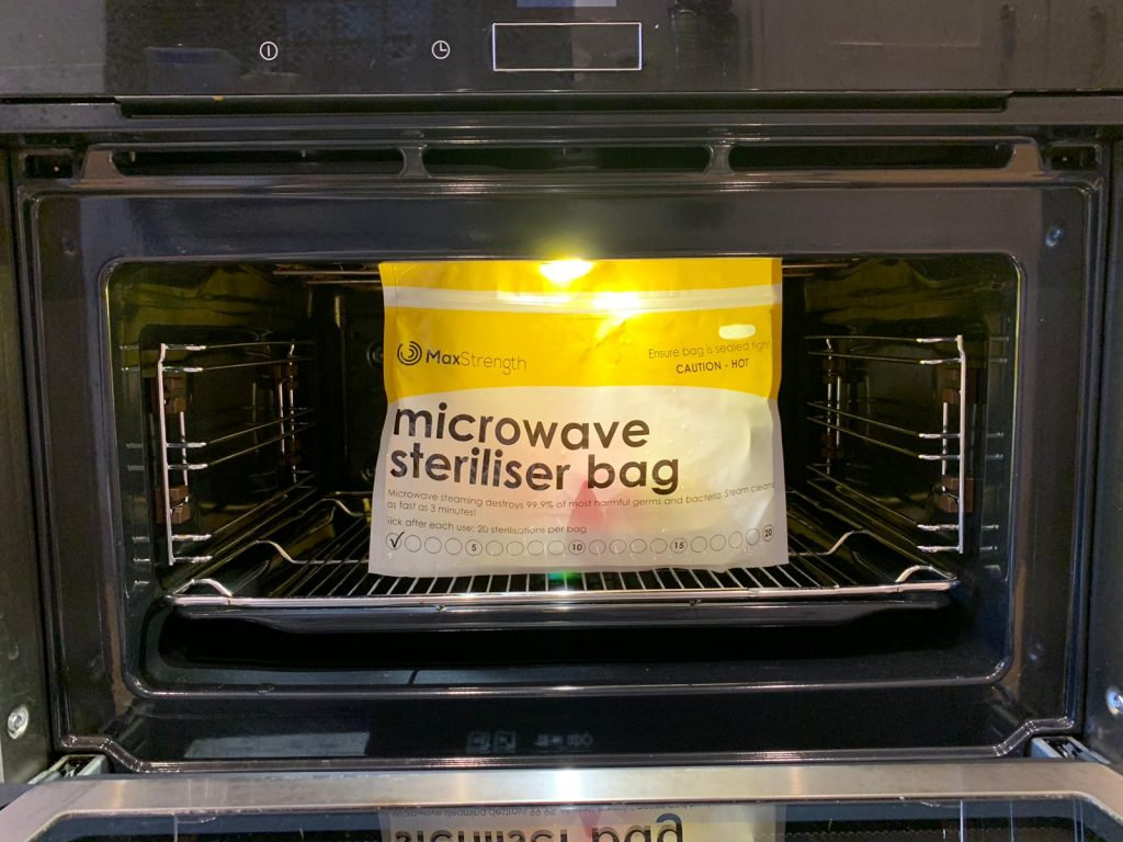 microwave steriliser bag