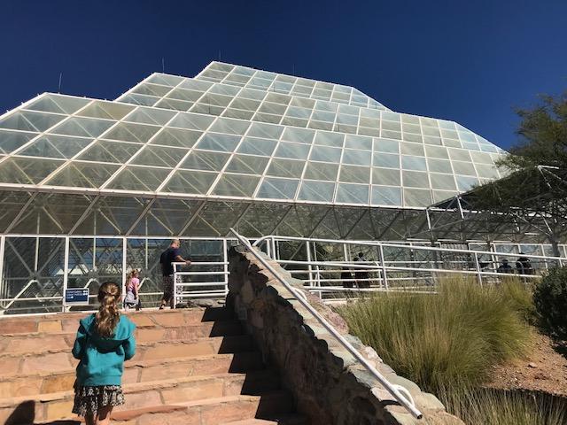 photo of Biosphere 2